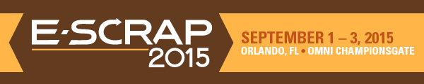 E-Scrap News Magazine: E-Scrap 2015: A big-picture look