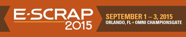 E-Scrap News Magazine: E-Scrap 2014 off to a lively start