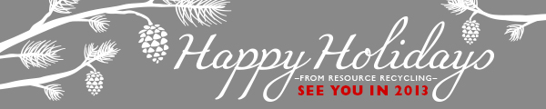 Happy Holidays 2013 Banner